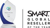 integrate av global reseller of the year for SMART technologies