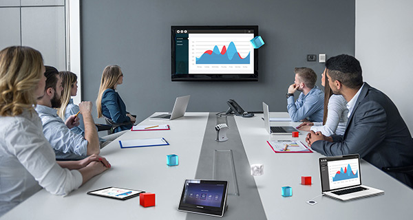 Boardroom technology allows superior presentation of data