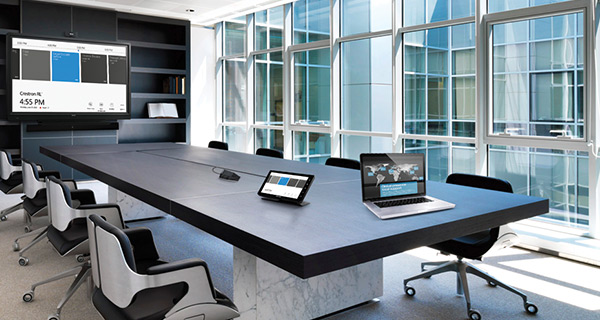 Fully integrated meeting room technology