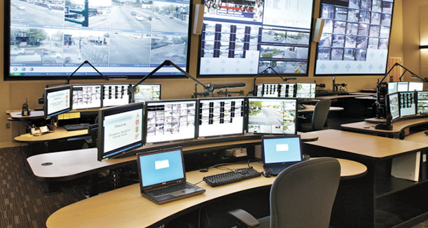 fully integrated control room audio visual technology