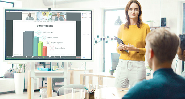 Training room technology enables presenting from any device